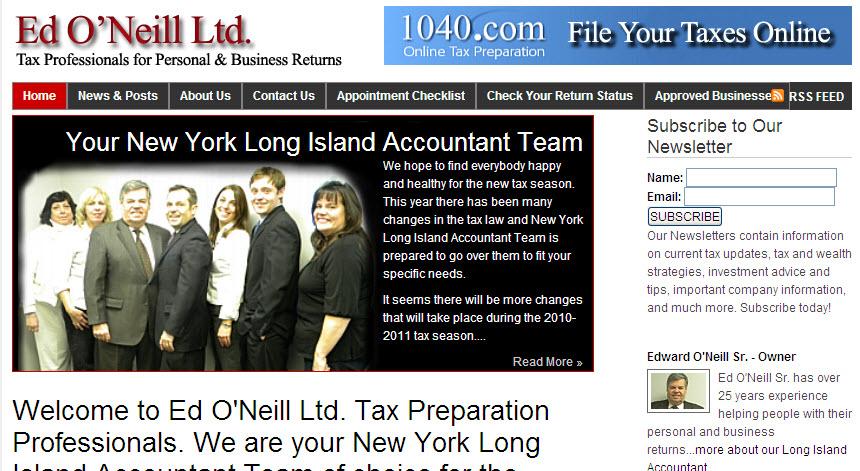 Ed O'Neill Taxes