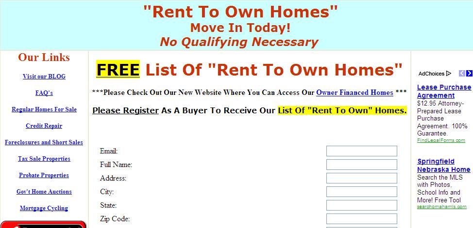 Rent To Buy NY