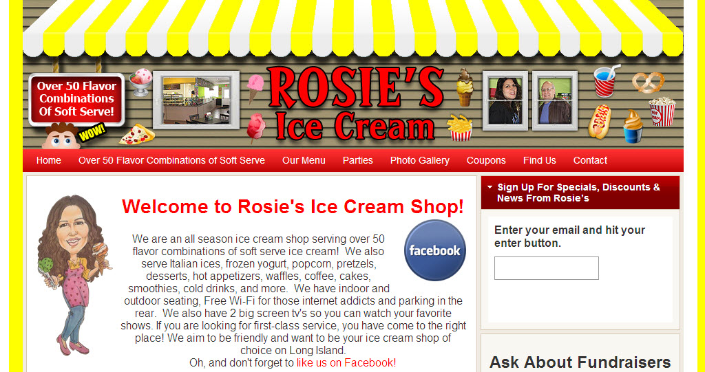 Rosie's Ice Cream