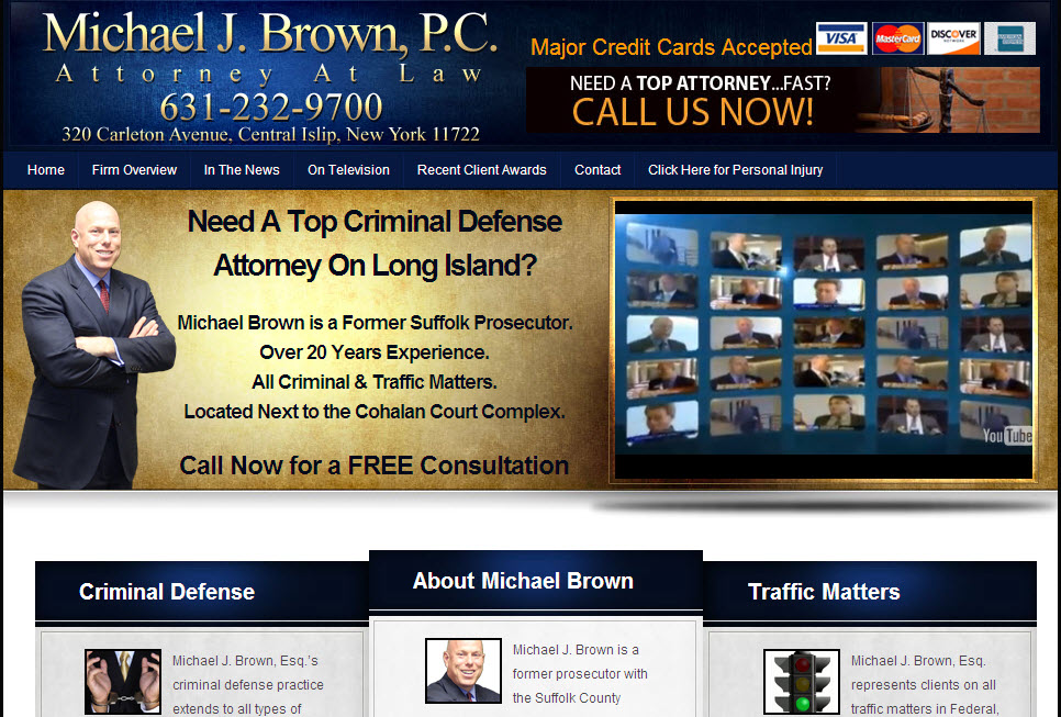 Michael J. Brown – Attorney at Law