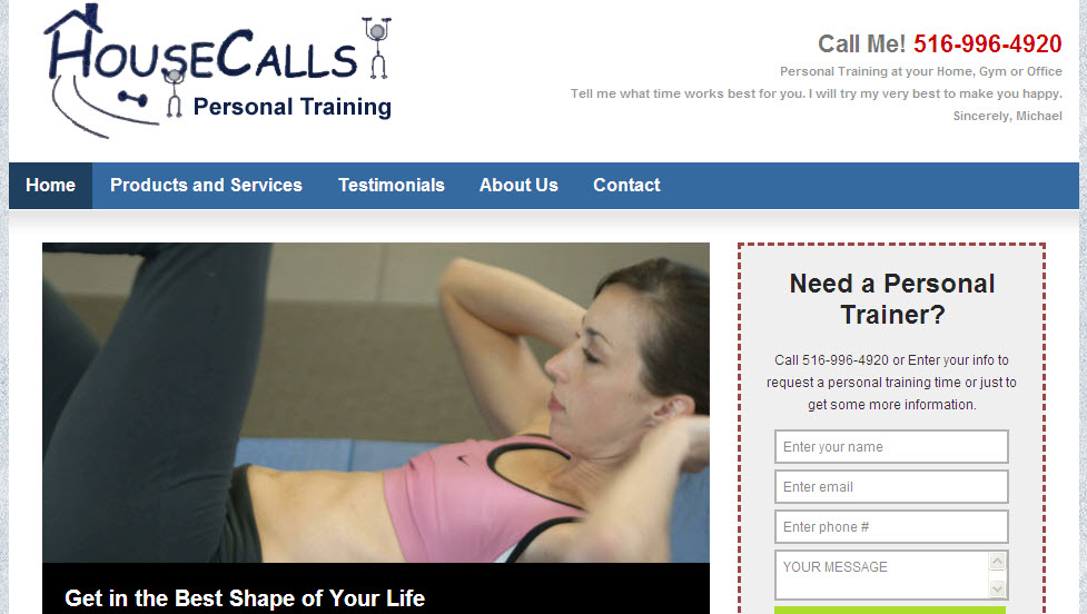 House Calls Personal Training