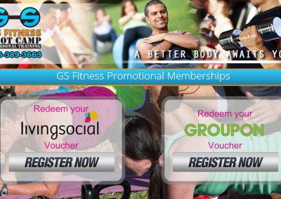 GS Fitness Promo Pages